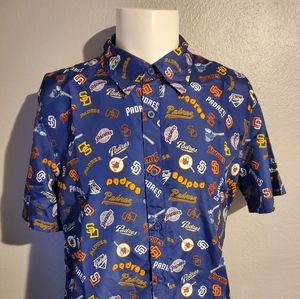 Vintage San Diego Padres Polyester S/S Shirt